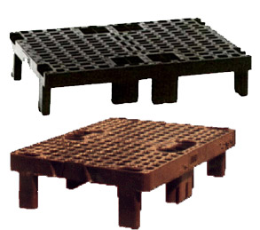 Plastik paller med perforeret overflade
